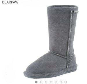 Bearpaw Evangeline Tall Boots Charcoal Gray
